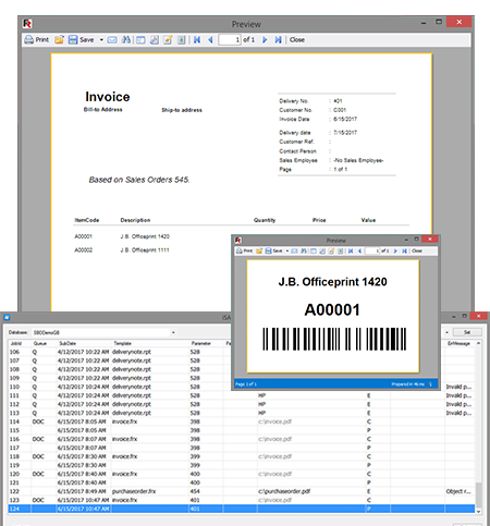 SAP Business One Add-Ons : <?=iSAP Print Queue ?> : <?=Page